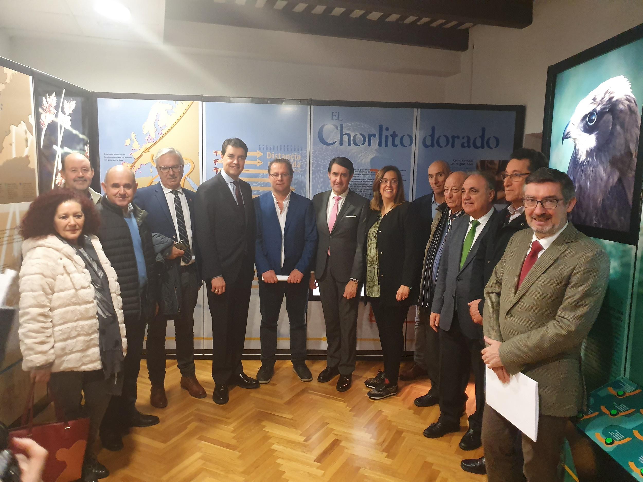 La Junta firma tres convenios de colaboración con las entidades locales y agropecuarias para la adecuada gestión ambiental del  humedal de La Nava en su treinta aniversario