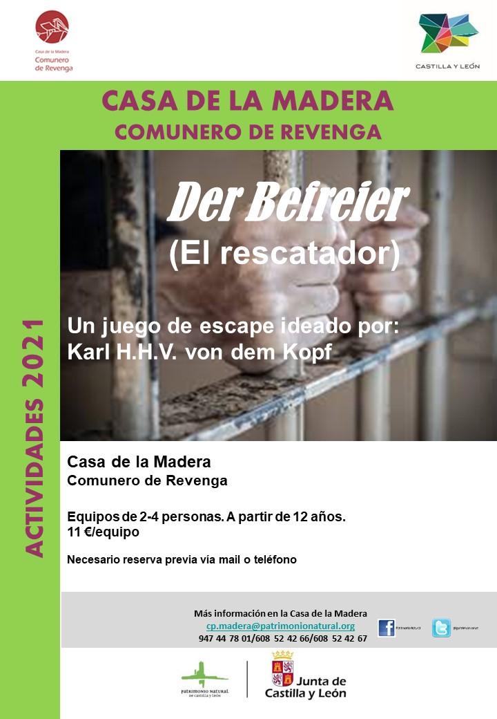 ESCAPE ROOM REVENGA 2.0 DER BEFREIER