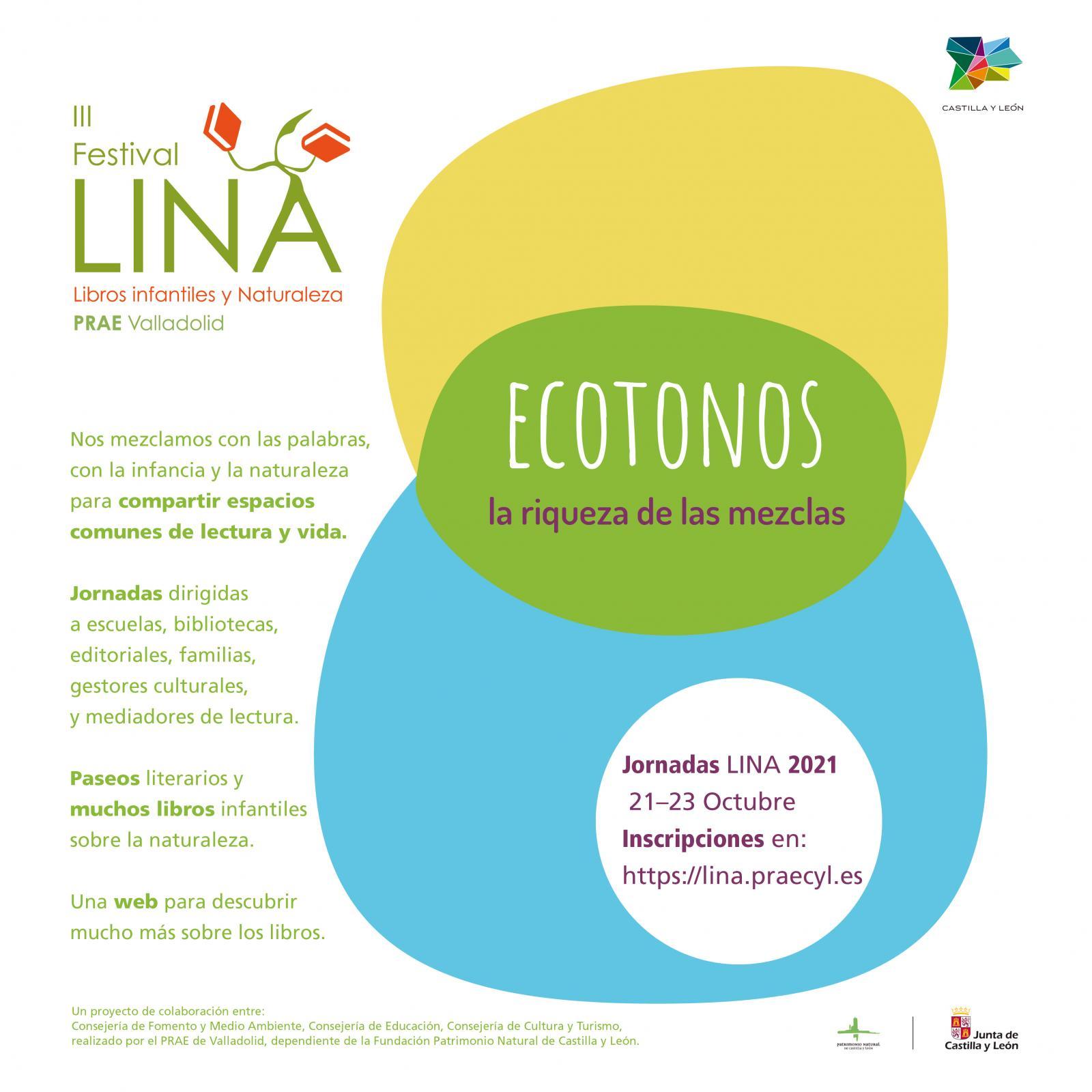 Tercera Edición del LINA, Festival de Literatura Infantil y Naturaleza