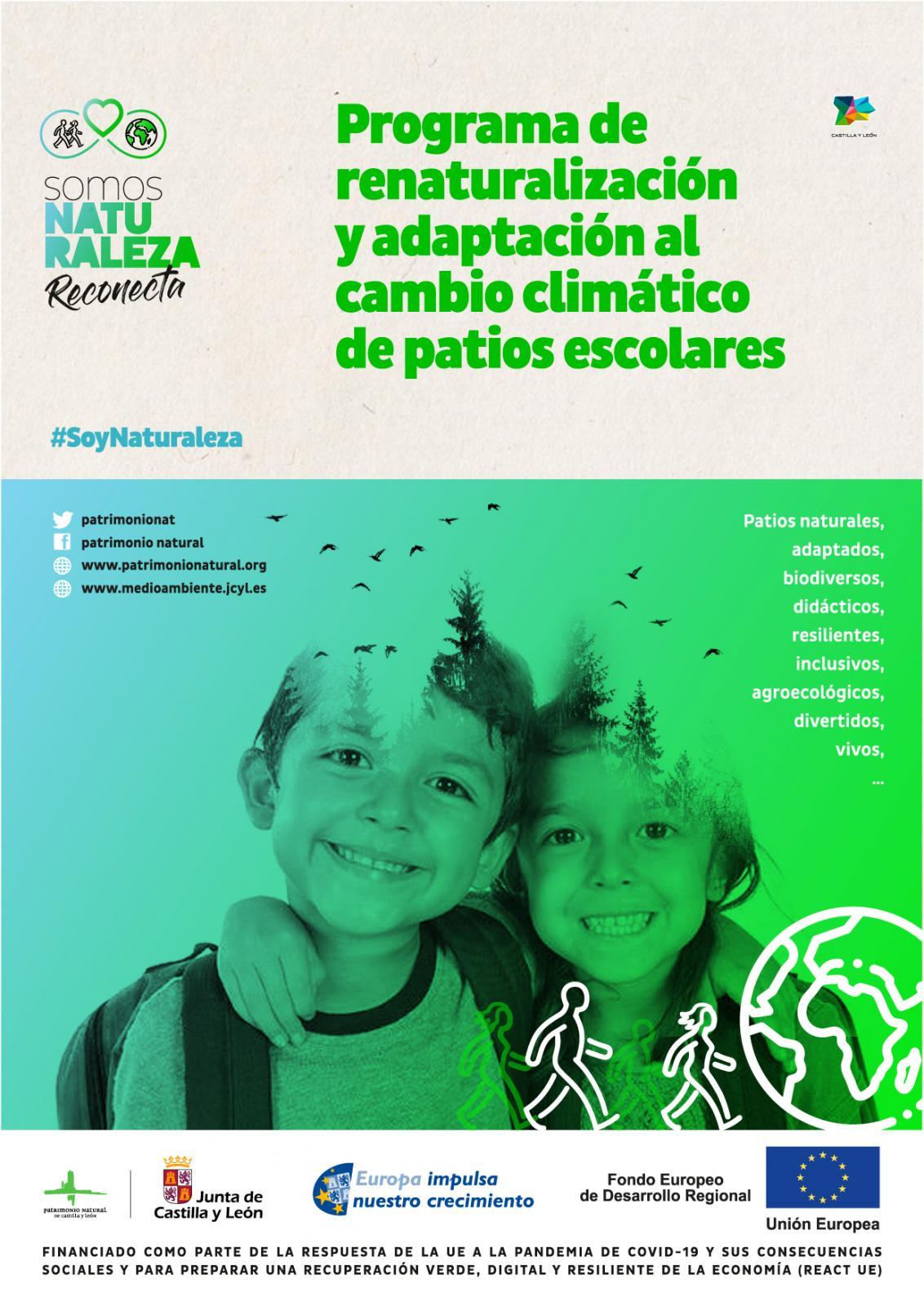 Los centros escolares de Castilla y León serán pioneros en la adaptación al cambio climático