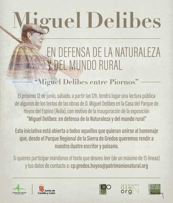 Homenaje a Miguel Delibes. Exposición