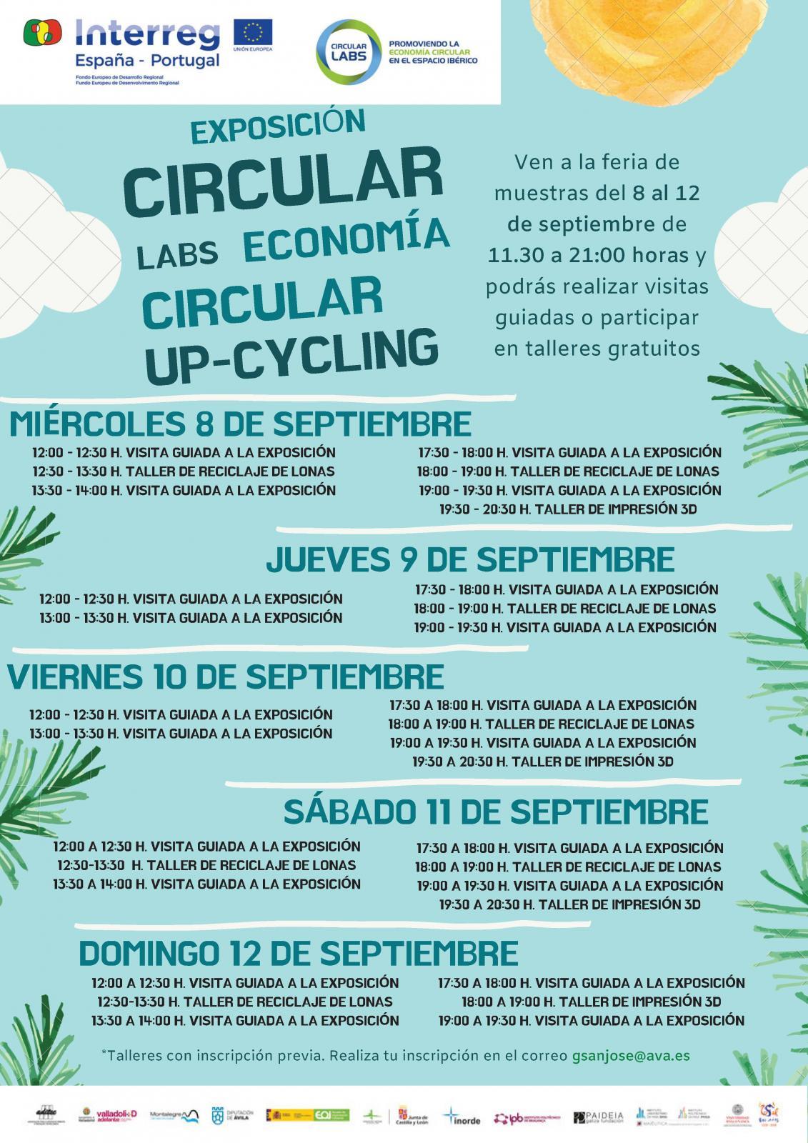 El proyecto Circular Labs presenta buenas prácticas en Economía Circular en una exposición