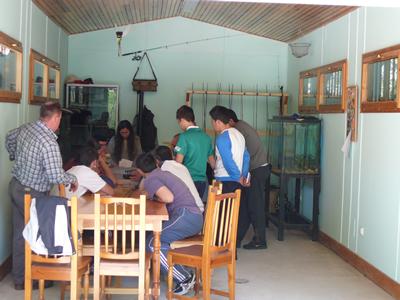 Aula del Río de Ucero. Clase práctica