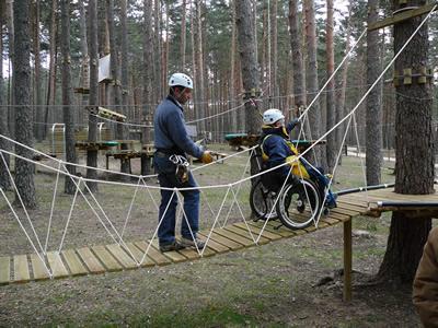 Parque de Aventura 'El Amogable' - accesibilidad