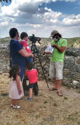 Taller de las aves de Pedraza, Casa del Águila Imperial.