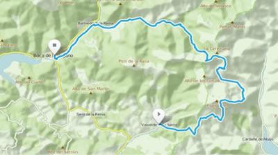 Riaño Trail Run. Mapa etapa 1
