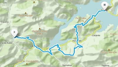 Riaño Trail Run. Mapa etapa 3