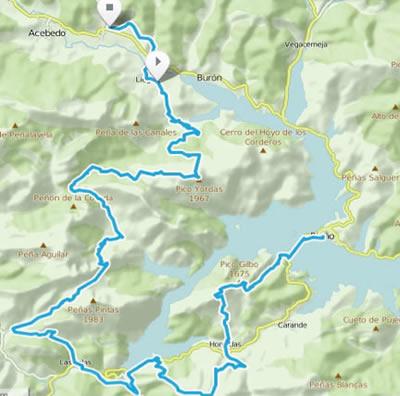 Riaño Trail Run. Mapa etapa 4