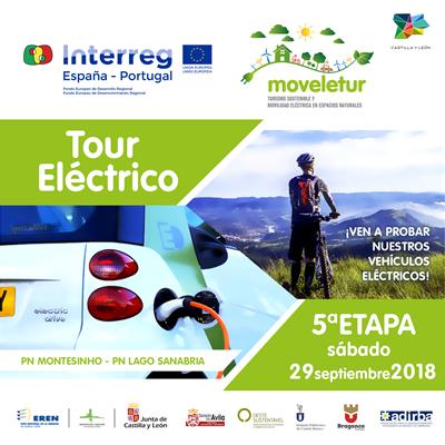 Tour eléctrico Moveletur 2018 - 5º Etapa Lago de Sanabria