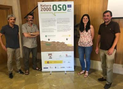 Empresarios turísticos de la Montaña Palentina reciben información sobre la Red Natura 2000 y el oso