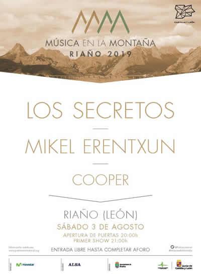 La localidad leonesa de Riaño espera este sábado más de 4.000 personas en la IV Edición de Música en la Montaña