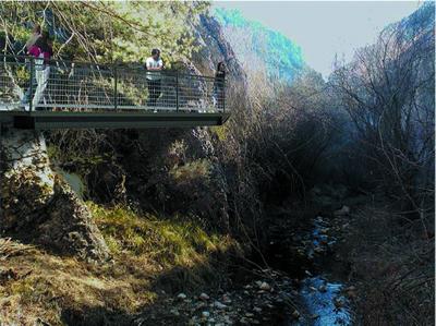 Infografías y planos del Programa de Infraestructuras Turísticas en Áreas Naturales - La Yecla (Burgos)