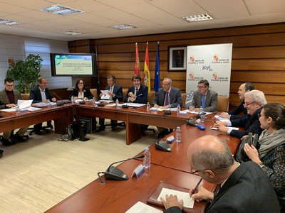 Suárez-Quiñones presenta al Consejo Regional de Medio Ambiente la Estrategia para la mejora de la calidad del aire de Castilla y León