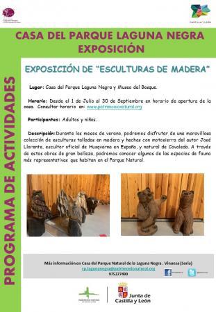 EXPOSICION ESCULTURAS DE MADERA