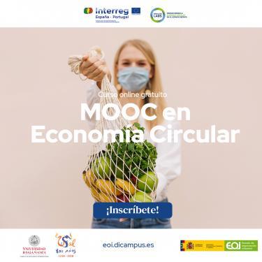 Cartel curso MOOC de Economía Circular - Proyecto Circular Labs