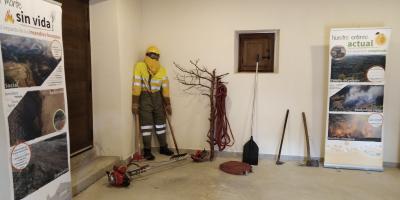 """Exposición """"Yo me enchufo con la prevención de incendios forestales"""""""
