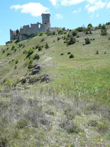 Cañón del río Lobos. Acceso al Castillo Ucero.