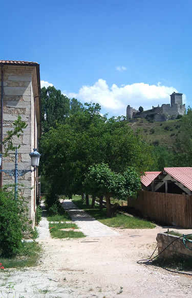 Edificio del Aula del río de Ucero (Soria)