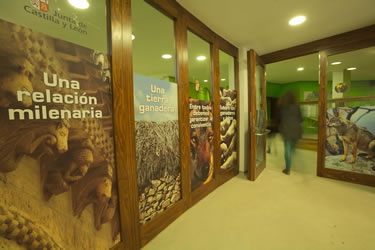 Centro del Lobo Ibérico de Castilla y León - Félix Rodríguez de la Fuente. Entrada