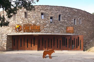 Centro del Lobo Ibérico de Castilla y León - Félix Rodríguez de la Fuente. Vista exterior