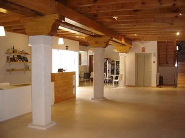 Interior de la Casa del Parque del Cañón Río Lobos - Soria