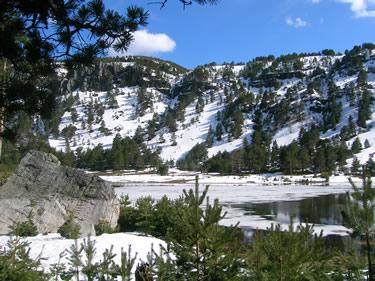 Laguna de la Cascada (Lagunas Neila)