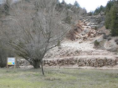 Cañón del río Lobos.