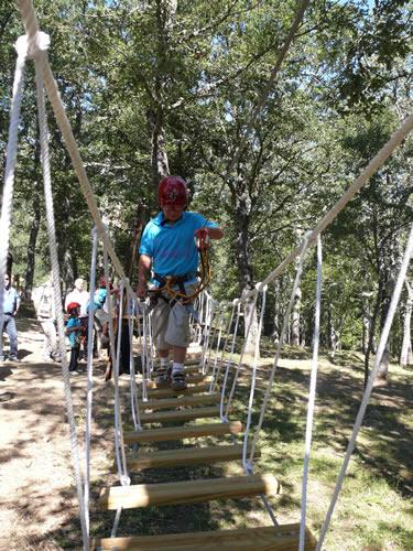 Parque de Aventuras El Robledal del Oso Palencia