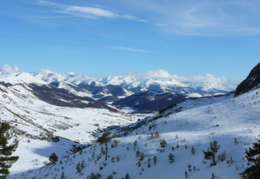 Parque Regional 'Montaña de Riaño y Mamprodre' desde el Puerto de Las Señales