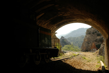 Espacio Natural Montes Obarenes - San Zadornil Tren Trespaderne (Burgos)