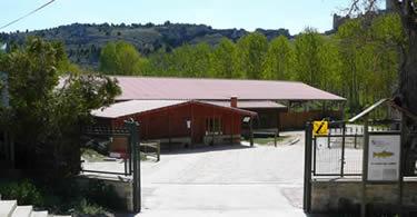 Vista general de las instalaciones del Aula del Río de Ucero