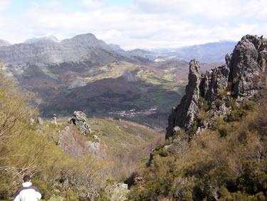 Vereda de los Escalones (Senda Puerto de Horcadas) - Picos de Europa